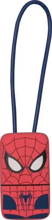 Tribe Marvel Spiderman Lightning Keyline přívěšek na klíče (22cm) - Červený
