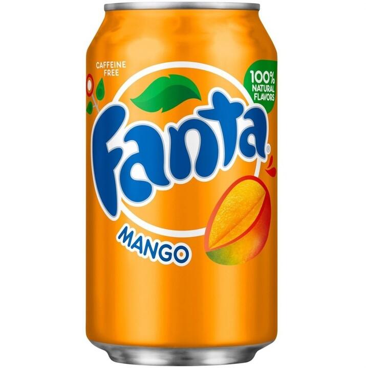 Fanta Mango USA 355 ml