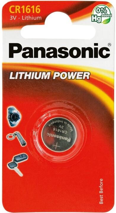 Panasonic baterie CR-1616 1BP Li