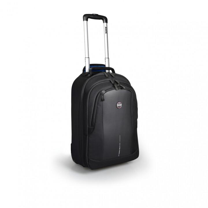 Port Design CHICAGO EVO batoh na kolečkách na 15,6'' notebook a 10,1'' tablet, černá