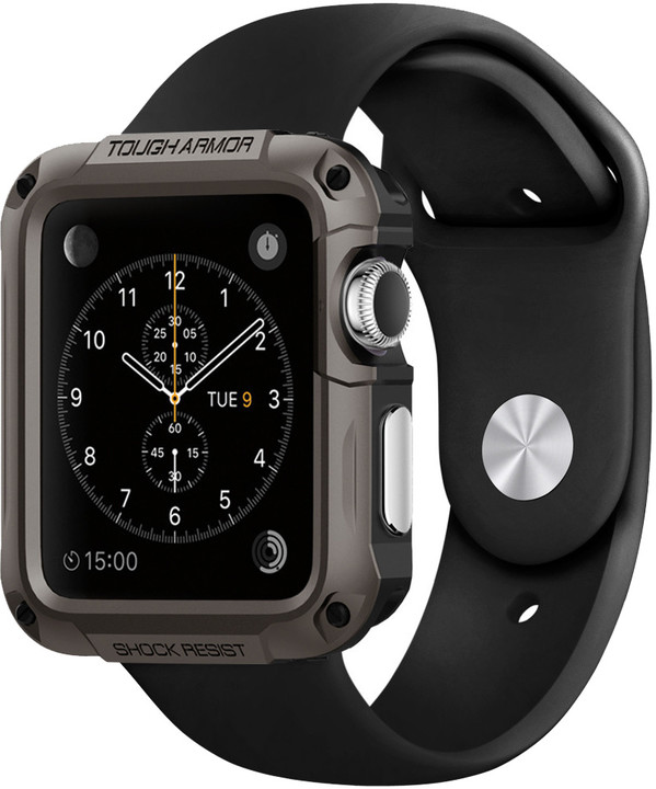 Spigen Tough Armor - Apple Watch 42mm, gunmetal