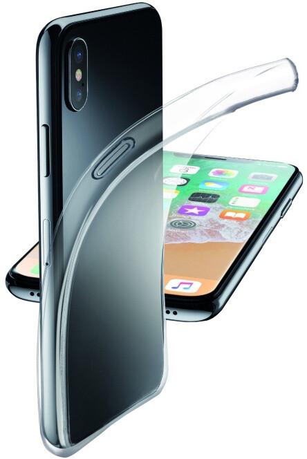 CellularLine Fine extratenký zadní kryt pro Apple iPhone X, bezbarvý