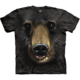 Tričko The Mountain Black Bear Face (US L / EU XL)