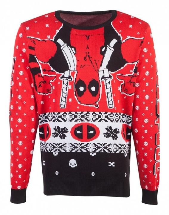 Svetr Deadpool - Holiday Deadpool (XXL)