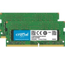Crucial 8GB (2x4GB) DDR4 2666 CL19 SO-DIMM CL 19 - CT2K4G4SFS8266