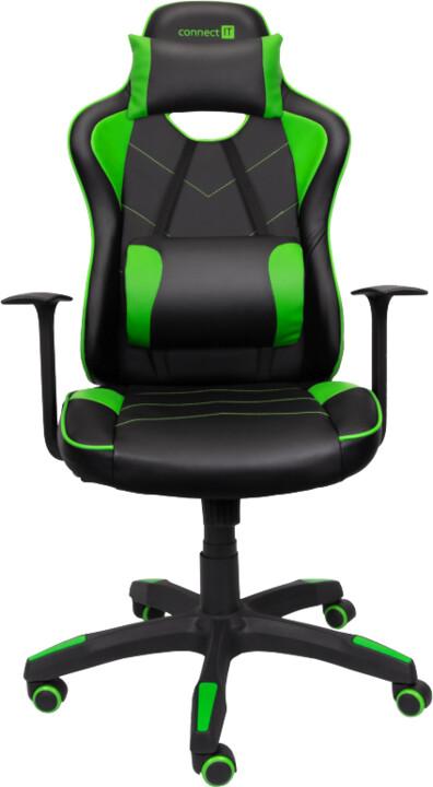 CONNECT IT LeMans Pro, černá/zelená