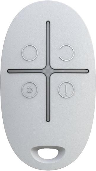 BEDO Ajax SpaceControl - Bezdrátový dálkový ovladač, bílá