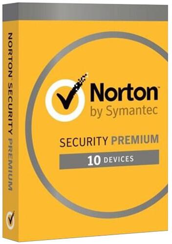 Symantec Norton Security Premium CZ 1 uživatel, 10 zařízení, 3 rok