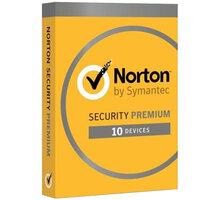 Symantec Norton Security Premium CZ 1 uživatel, 10 zařízení, 3 rok - 21386558