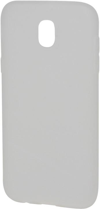 EPICO plastový kryt pro Samsung Galaxy J5 (2017) SILK MATT - bílý transparentní