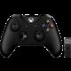 Xbox ONE S Bezdrátový ovladač, černý + bezdrátový adaptér pro Win 10 v2 (PC, Xbox ONE)  + Voucher Be a Gamer - 5x 100 Kč (sleva na hry nad 999 Kč)