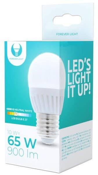 Forever žárovka G45 E27, LED, 10W, 4500K, neutrální bílá