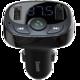 Baseus autonabíječka Bluetooth MP3 (Standard Edition), černá