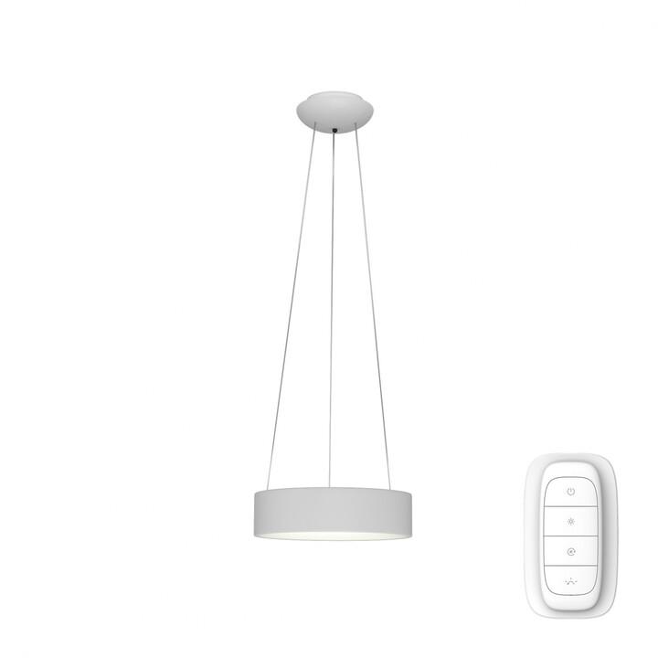 IMMAX NEO AGUJERO Smart závěsné svítidlo 45cm 30W, bílá