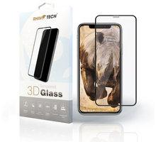 RhinoTech 2 Tvrzené ochranné 3D sklo pro Apple iPhone 6 Plus/6S Plus, černé (včetně instalačního rámečku)