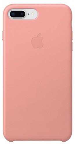 Apple kožený kryt na iPhone 8 Plus / 7 Plus, bledě růžová