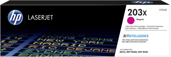 HP CF543X no. 203X (2500 str.), magenta
