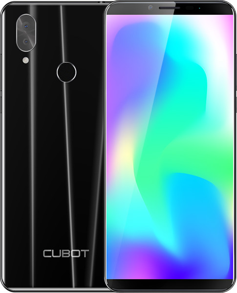CUBOT X19, 4GB/64GB, černá