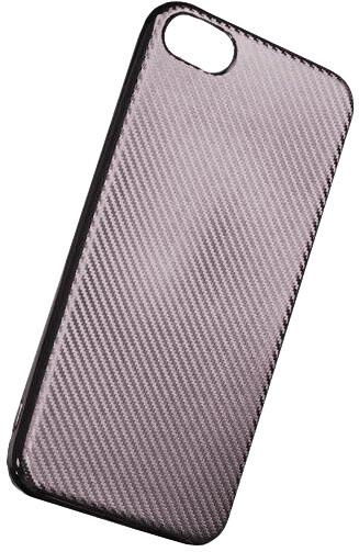 Forever silikonové (TPU) pouzdro pro Samsung Galaxy S8 PLUS, carbon/stříbrná
