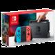 Nintendo Switch, červená/modrá  + Voucher až na 3 měsíce HBO GO jako dárek (max 1 ks na objednávku)