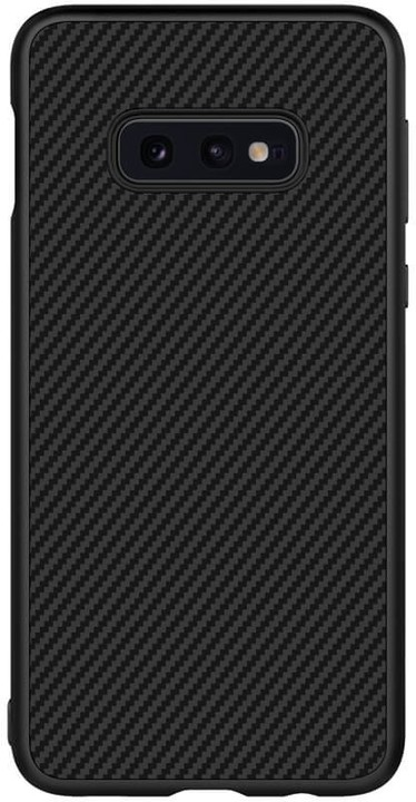 Nillkin Synthetic Fiber ochranný zadní kryt Carbon pro Samsung G970 Galaxy S10e, černá