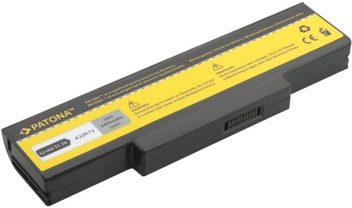 Patona baterie pro ASUS, K72 K72DR K72DY 4400mAh 10,8V černá