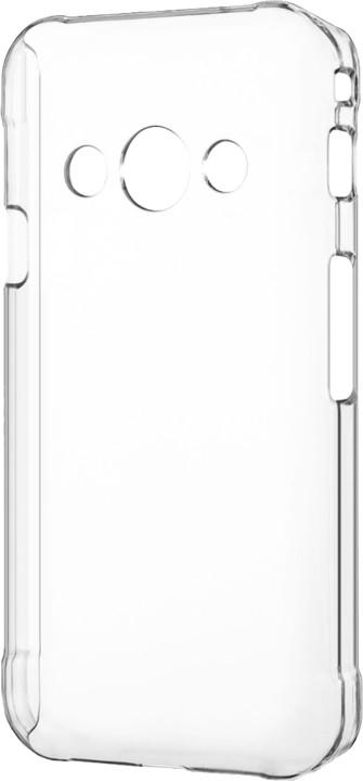 CELLY Gelskin pouzdro pro Samsung Galaxy Xcover 3, bezbarvá