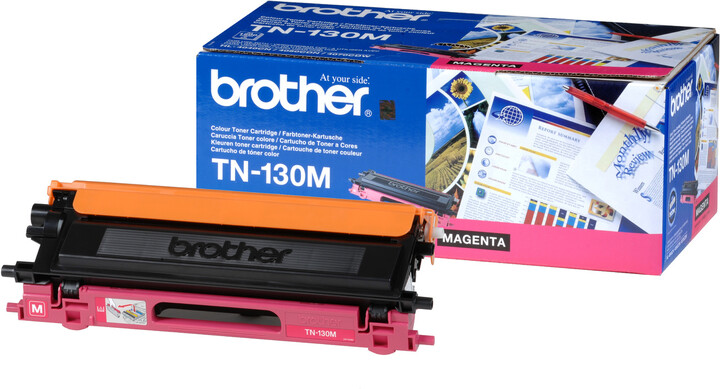 Brother TN-130M, magneta
