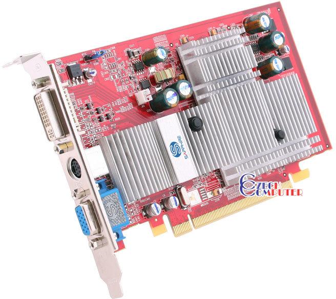 Sapphire Atlantis ATI Radeon X550 HS 128MB, PCI-E
