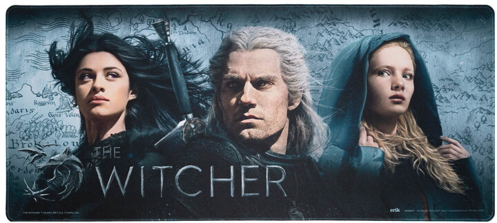The Witcher: Icons, XL, herní, látková