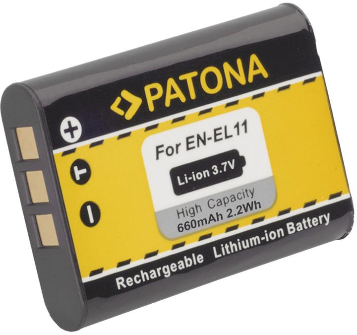 Patona baterie pro Nikon EN-EL11 600mAh