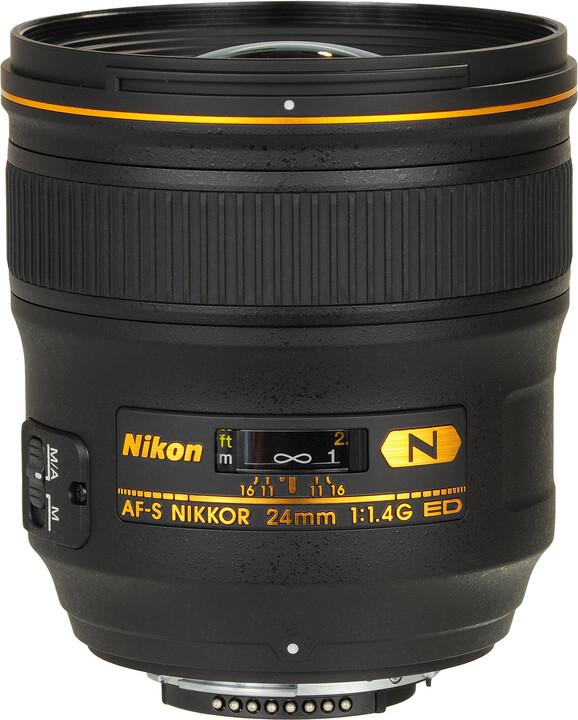 Nikon objektiv Nikkor 24mm f/1.4G AF-S ED