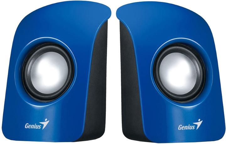 Genius SP-U115, přenosné repro, USB napájení, modré