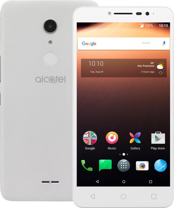 ALCATEL A3 XL 9008D, 1GB/8GB, bílá