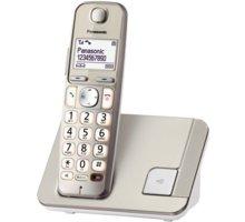 Panasonic KX-TGE210FXN, zlato-bílá