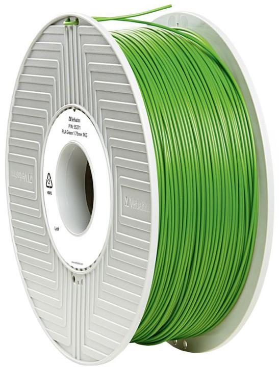 Verbatim tisková struna (filament), PLA, 1,75mm, 1kg, zelená