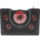 """Genesis chladící podložka Oxid 550, 1x USB, pro notebooky 15.6-17.3"""", 5 ventilátorů, červené led,"""