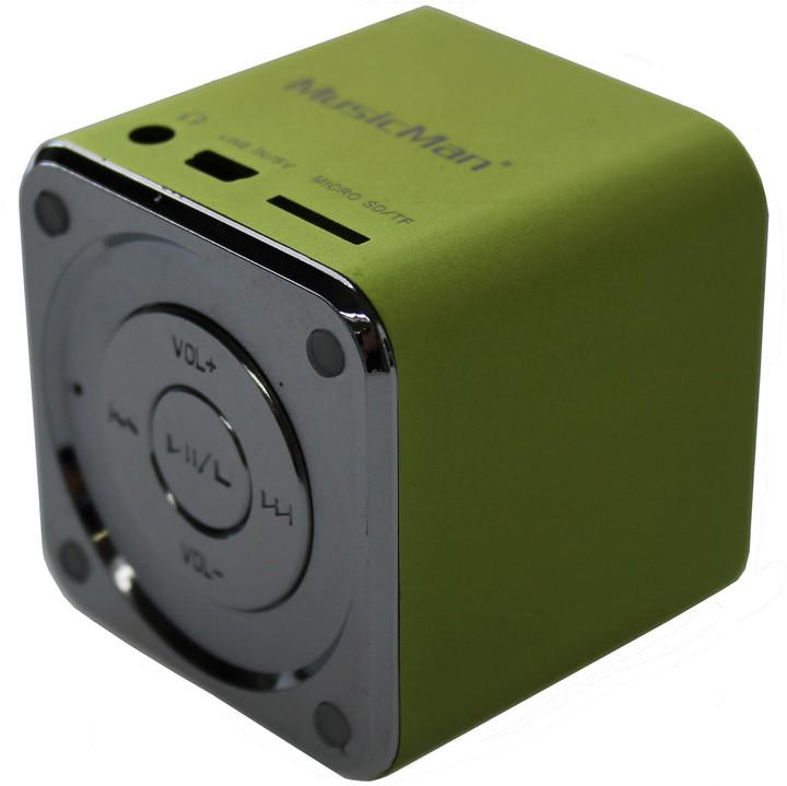Technaxx Mini MusicMan, zelená