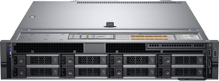 Dell PowerEdge R540, /4210/16GB/1x480GB SSD/2x750W/2U/3Y NBD