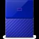 WD My Passport - 4TB, modrá