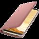 Samsung S8 Flipové pouzdro LED View, růžová