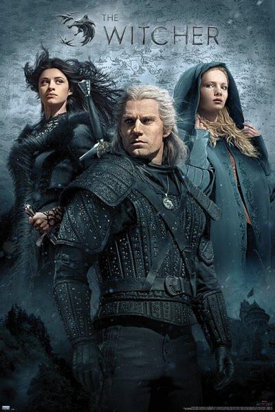 Plakát The Witcher - Key Art (Netflix)