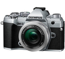 Olympus E-M5 Mark III + 14-42mm EZ stříbrná/černá - V207090SE030