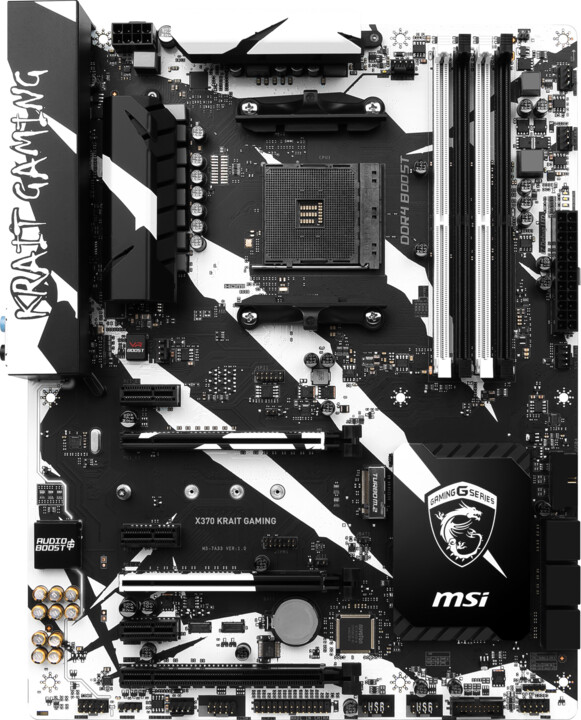MSI X370 KRAIT GAMING - AMD X370