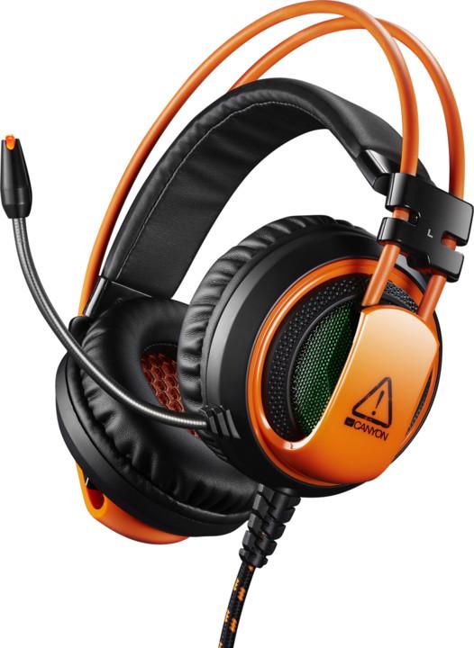 Canyon CND-SGHS5, černá/oranžová