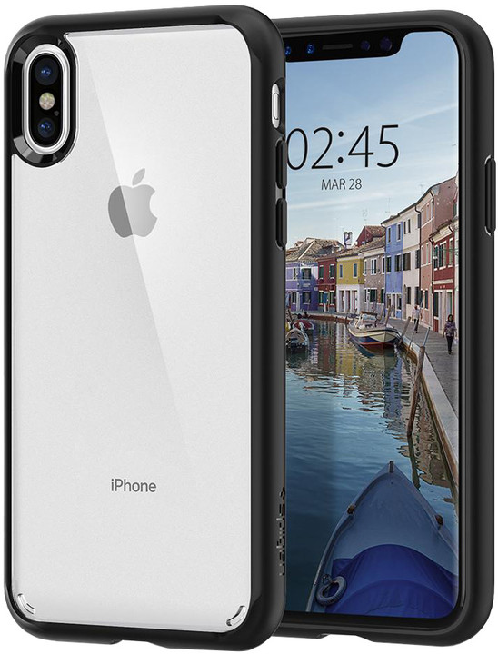 Spigen Ultra Hybrid iPhone X, matte black