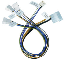 Akasa pro synchronizaci 3 ventilátorů se základní deskou
