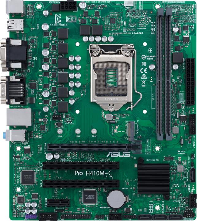 ASUS PRO H410M-C/CSM - Intel H410