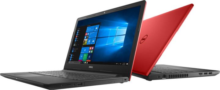 Dell Inspiron 15 (3567), červená