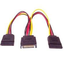 PremiumCord Napájecí kabel k HDD Serial ATA prodlužka 16cm - kfsa-21